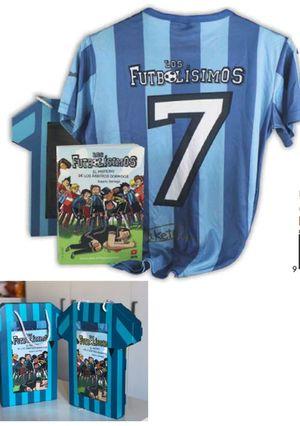 PACK FUTBOLISIMOS 1 + CAMISETA