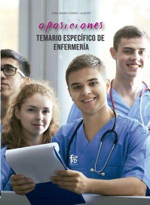 OPOSICIONES. TEMARIO ESPECIFICO DE ENFERMERIA