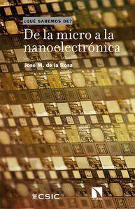 DE LA MICRO A LA NANOELECTRONICA
