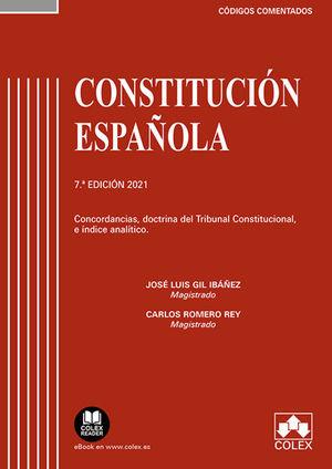 CONSTITUCION ESPAÑOLA. COMENTADA