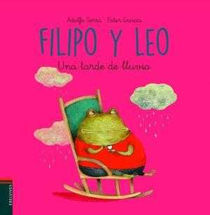 FILIPO Y LEO. UNA TARDE DE LLUVIA
