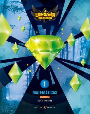 PROYECTO: LA LEYENDA DEL LEGADO. MATEMÁTICAS 1 - CUADRÍCULA. TRIMESTRES