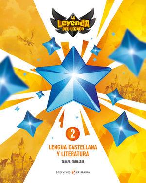 PROYECTO: LA LEYENDA DEL LEGADO. LENGUA CASTELLANA Y LITERATURA 2. PACK TRIMESTRES