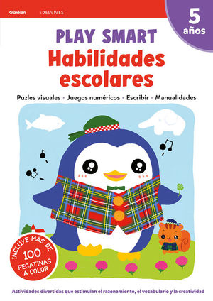 PLAY SMART : HABILIDADES ESCOLARES. 5 AÑOS