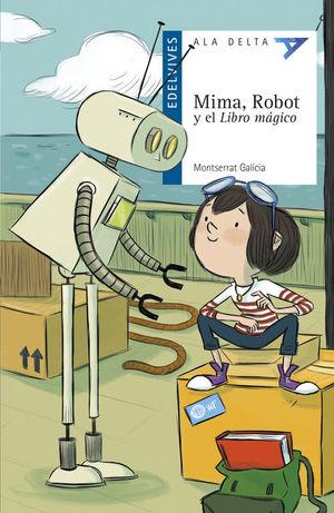 MIMA, ROBOT Y EL LIBRO MÁGICO