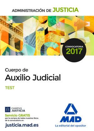 CUERPO DE AUXILIO JUDICIAL. TEST