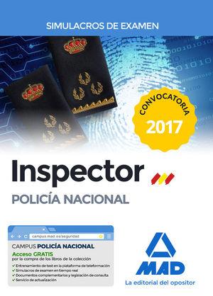 INSPECTOR DE POLICÍA NACIONAL. SIMULACROS DE EXAMEN