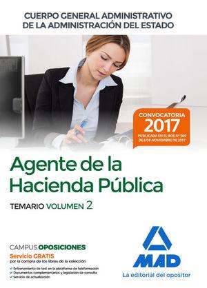 AGENTES DE LA HACIENDA PÚBLICA CUERPO GENERAL ADMINISTRATIVO DE LA ADMINISTRACIÓ