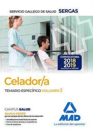 CELADOR SERGAS TEMARIO ESPECIFICO VOLUMEN 2