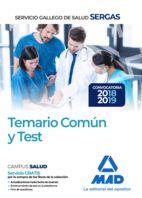 TEMARIO COMUN Y TEST SERGAS