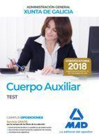 CUERPO AUXILIAR ADMINISTRACION GENERAL XUNTA GALICIA. TEST