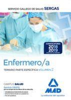 ENFERMERO/A SERGAS TEMARIO PARTE ESPECIFICA VOLUMEN 2