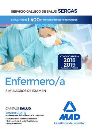 ENFERMERO/A DEL SERGAS. SIMULACROS DE EXAMEN