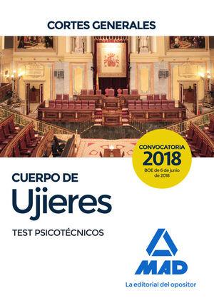 CUERPO DE UJIERES DE LAS CORTES GENERALES. TEST PSICOTECNICOS