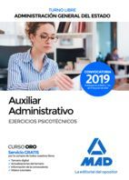 AUXILIAR ADMINISTRATIVO DE LA ADMINISTRACIÓN GENERAL DEL ESTADO (TURNO LIBRE). E