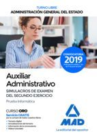 AUXILIAR ADMINISTRATIVO DE LA ADMINISTRACIÓN GENERAL DEL ESTADO (TURNO LIBRE). S