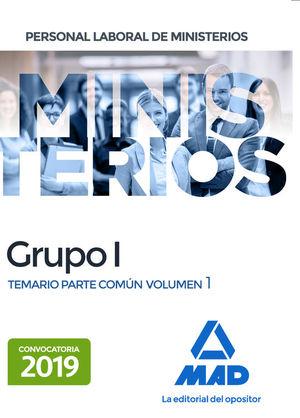 PERSONAL LABORAL DE MINISTERIOS GRUPO I