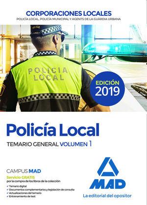 POLICÍA LOCAL CORPORACIONES LOCALES