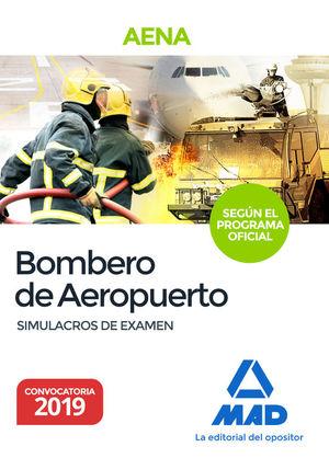 BOMBERO DE AEROPUERTOS. SIMULACROS DE EXAMEN DEL PROGRAMA OFICIAL PROPUESTO POR