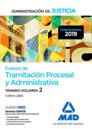 CUERPO DE TRAMITACION PROCESAL Y ADMINISTRATIVA DE LA ADMINISTRACIÓN DE JUSTICIA