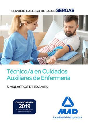 TÉCNICO/A EN CUIDADOS AUXILIARES DE ENFERMERÍA DEL SERVICIO GALLEGO DE SALUD