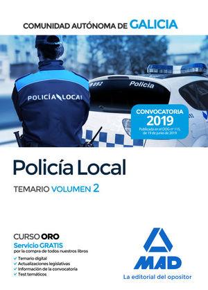 POLICÍA LOCAL DE LA COMUNIDAD AUTÓNOMA DE GALICIA