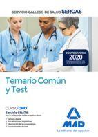 SERVICIO GALLEGO DE SALUD (SERGAS). TEMARIO COMÚN Y TEST