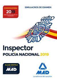 INSPECTOR DE POLICIA NACIONAL. SIMULACROS DE EXAMEN