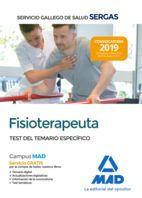 FISIOTERAPEUTA SERGAS. TEST DEL TEMARIO ESPECIFICO