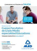 CUERPO FACULTATIVO DE GRADO MEDIO ESPECIALIDAD EDUCADORES (SUBGRUPO A2)
