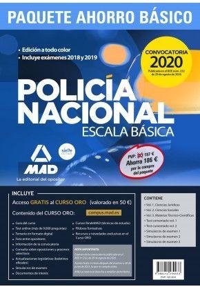 PACK AHORRO POLICIA NACIONAL 2020