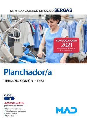 PLANCHADOR / A SERGAS. TEMARIO COMUN Y TEST