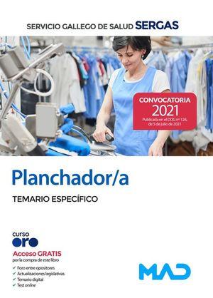 PLANCHADOR/A DEL SERVICIO GALLEGO DE SALUD. TEMARIO ESPECÍFICO