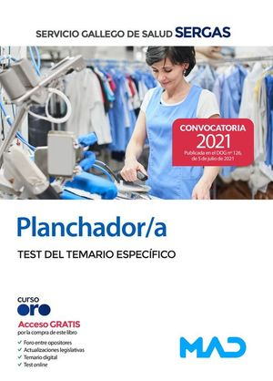 PLANCHADORES SERGAS TEST ESPECIFICO