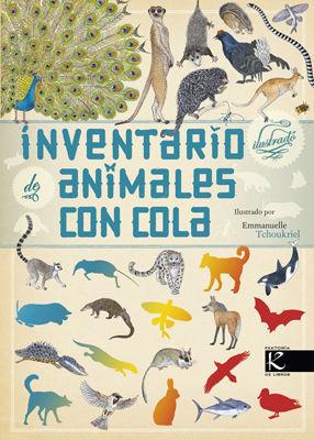 INVENTARIO ILUSTRADO DE ANIMALES CON COLA