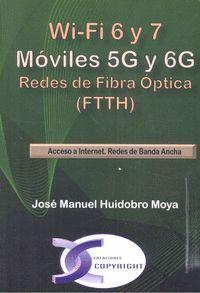 WI-FI 6 Y 7. MÓVILES 5G Y 6G. REDES DE FIBRA ÓPTICA (FTTH)