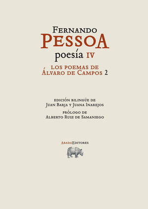 POESIA, 4 POEMAS ALVARO CAMPOS