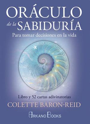 ORACULO DE LA SABIDURIA (LIBRO + 52 CARTAS ADIVINATORIAS)