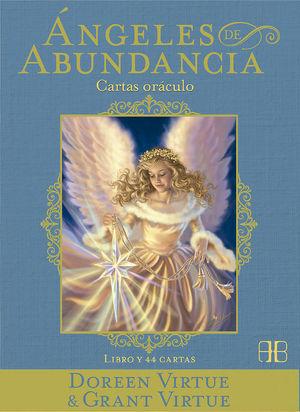 ANGELES DE ABUNDANCIA. CARTAS ORACULO (LIBRO Y 44 CARTAS)