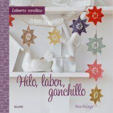 LABORES SENCILLAS. HILO, LABOR, GANCHILLO