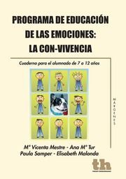 PROGRAMA DE EDUCACIÓN DE LAS EMOCIONES: LA CON-VIVENCIA