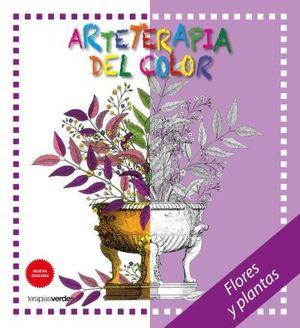 ARTETERAPIA DEL COLOR. FLORES Y PLANTAS