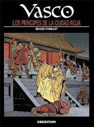 VASCO 12: LOS PRÍNCIPES DE LA CIUDAD ROJA