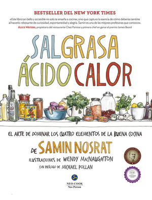 SAL, GRASA, ACIDO, CALOR