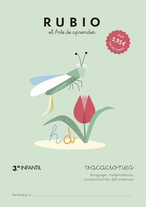 RUBIO VACACIONES -3º INFANTIL