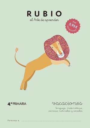 RUBIO VACACIONES  - 4º PRIMARIA