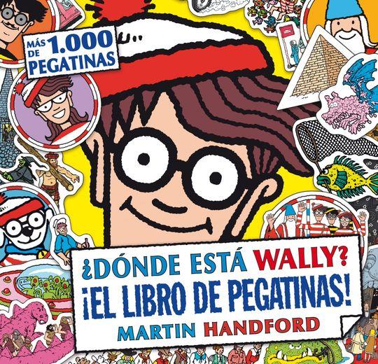 DÓNDE ESTÁ WALLY? EL LIBRO DE PEGATINAS!