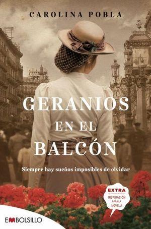 GERANIOS EN EL BALCON