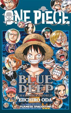 ONE PIECE GUIA DEEP BLUE