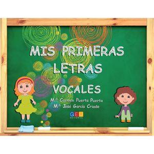 MIS PRIMERAS LETRAS VOCALES